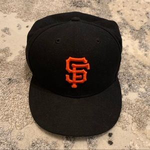 New Era SF Giants Fitted Hat, Size: 7 1/4